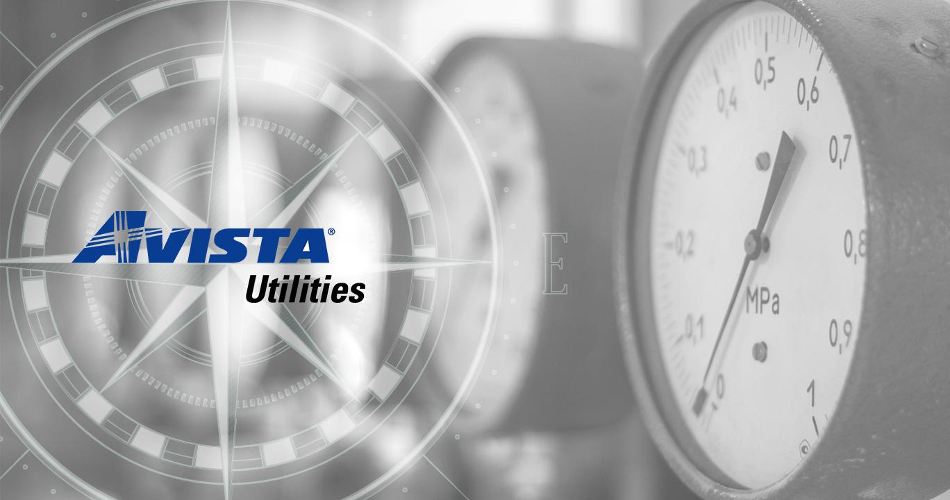 Avista Utilities logo on image background