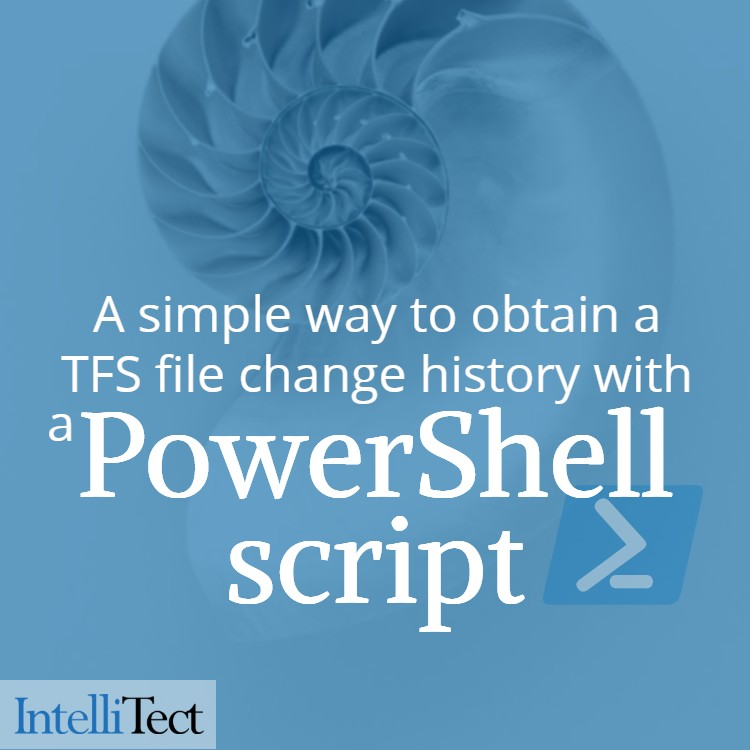 PowerShell Script Provides Simple Change History File