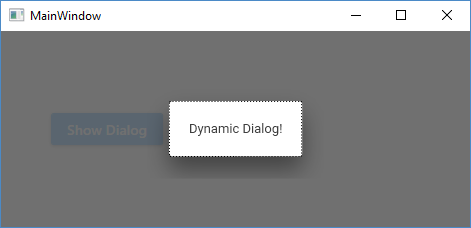 Material Design in XAML making sense of the DialogHost