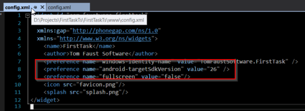 How To Set the Android Target APK Level for PhoneGap - IntelliTect