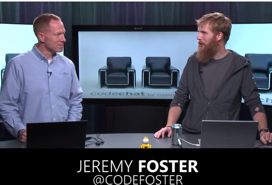 Mark and Jeremy Foster on CodeChat