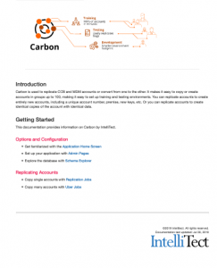 Introduction to IntelliTect's Carbon sofware solution