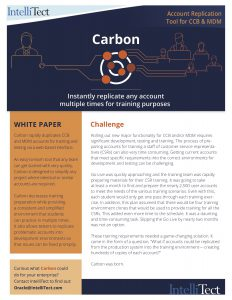 IntelliTect's Carbon Preview image including Challenge info
