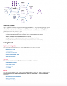 Introduction to IntelliTect's Trellis software solution