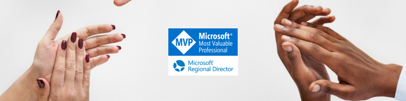 Microsoft MVP and Microsoft Regional Director