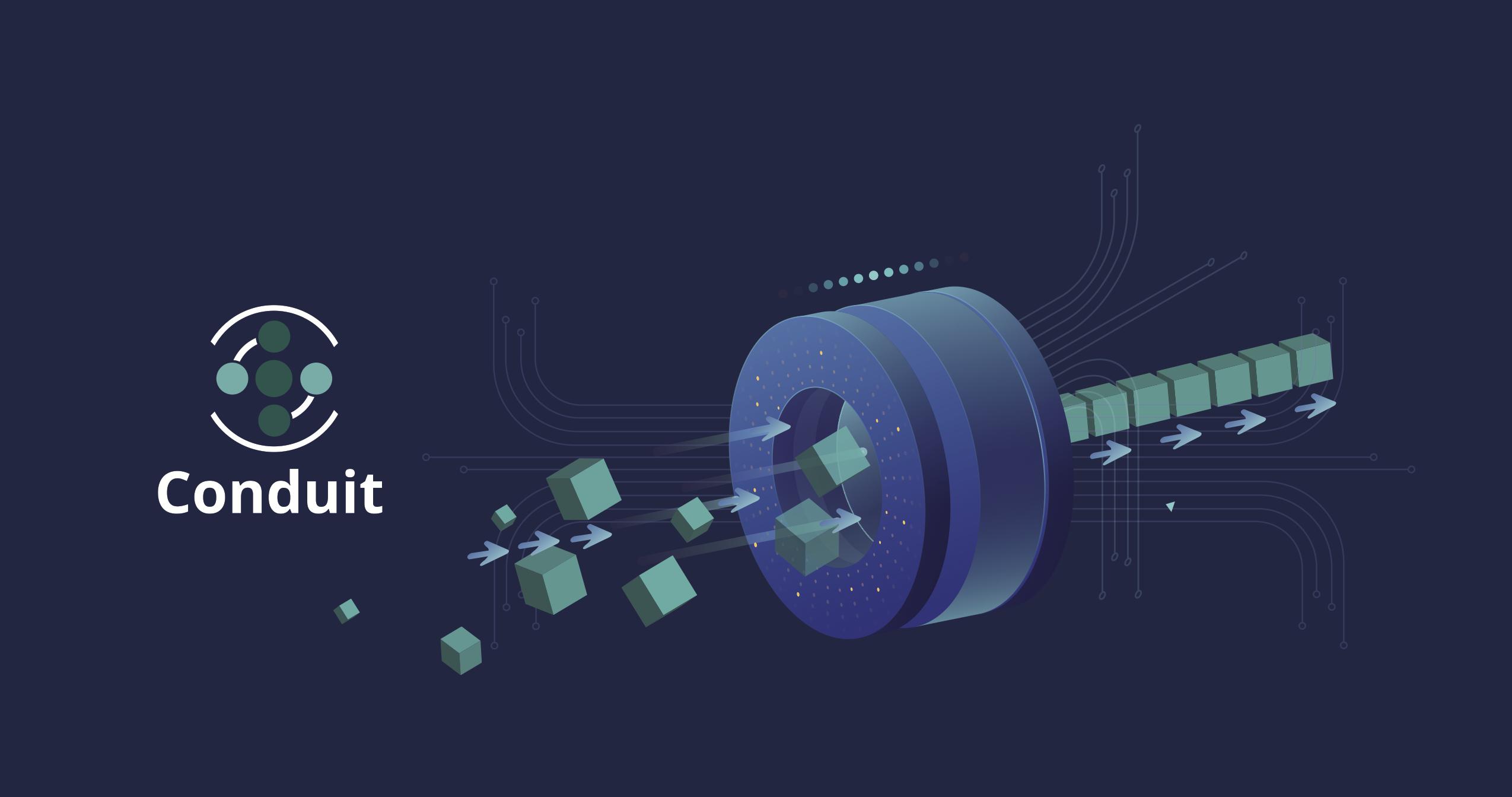 IntelliTect's Conduit software flowchart graphic